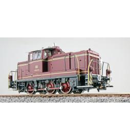 ESU 31415 - Diesellok, H0, BR V60, V60 615, altrot, EP III, 1963, LokSound, Raucherzeuger, Rangierkupplung, DC/AC