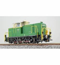 ESU 31424 - Diesellok, H0, BR V60, 360 573, grün, BE Ep. VI, 2017, LokSound, Raucherzeuger, Rangierkupplung, DC/AC