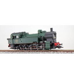 ESU 31296 - Dampflok, H0, T16.1, 98 040, SNCB, Ep III, schwarz-grün, 1954, LokSound, Raucherzeuger, Rangierkupplung, DC/AC