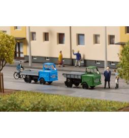Auhagen 44656 - Multicar M22 dump truck and flat bed