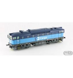 MTB-Model CDC750013 - Lokomotywa spalinowa Nurek CD Cargo 750 013, DCC z dźwiękiem