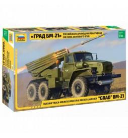 ZVEZDA Z3655 - Wyrzutnia rakiet GRAD BM-21, skala 1:35