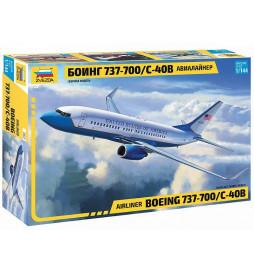 ZVEZDA Z7027 - Model samolotu Boeing 737-700/C-40B, skala 1:144