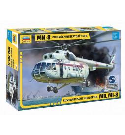 ZVEZDA Z7254 - Rosyjski helikopter ratunkowy MIL MI-8, skala 1:72