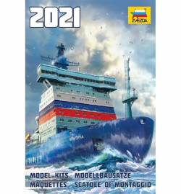 ZVEZDA ZK2021 - Katalog modeli na rok 2021