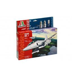 Italeri 1385 - Samolot F/A-18 HORNET SWISS AIR FORCE, do sklejania, skala 1:72