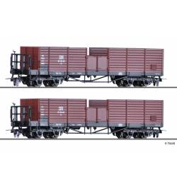 Tillig H0 05924 - Zestaw 2 wagonów OO, DR epoka III, H0e