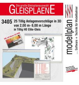 CD - Plany torowisk Elite WinTrack III - Tillig H0 09547