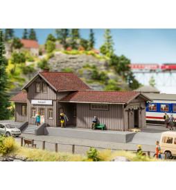 Noch 66001 - Przystanek kolejowy Amtzell