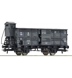 Roco 76310 - Wagon do przewozu bydła PKP, epoka III