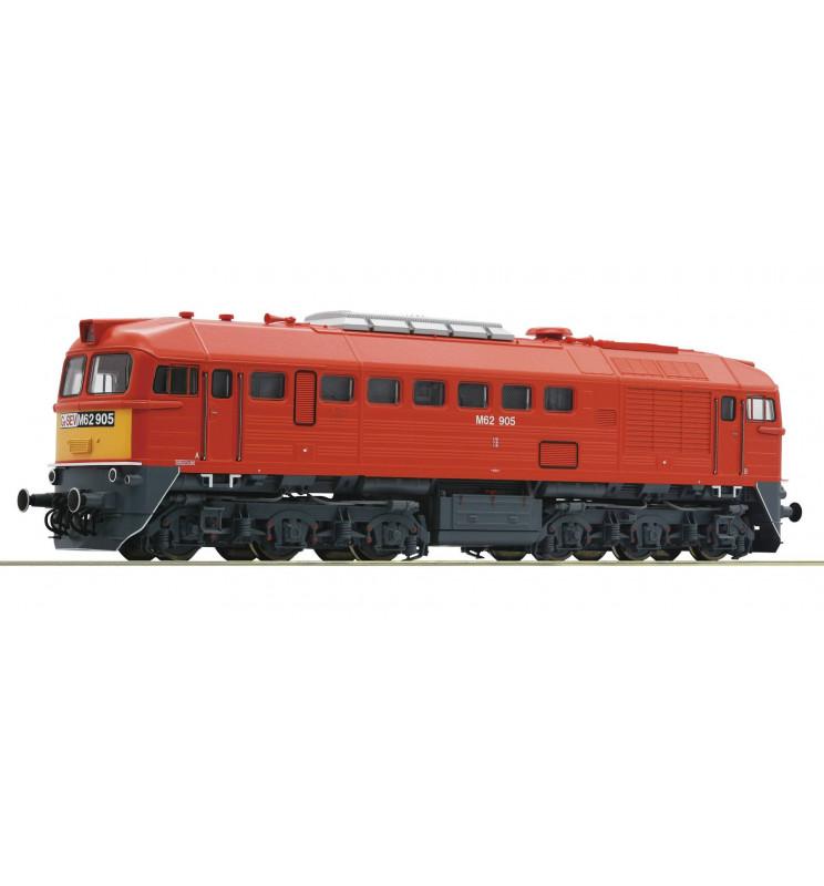 Roco 73244 - Lokomotywa spalinowa M62 Gysev, DCC z dźwiękiem