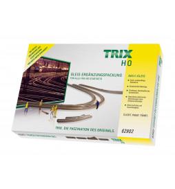 Trix T62902 - C-Gleis-Ergänzungspackung C2
