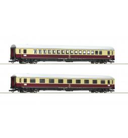 Roco 74074 - Zestaw 2 wagonów TEE 74/75 Roland , DB, epoka IV