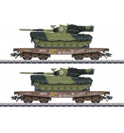 Marklin 048842 Zestaw platform ciężkich Leo DK