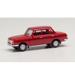 Herpa 022903-005 - Wartburg 353, rok 66, kolor rubionowo-czerwony