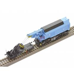 Roco 73038 - Cyfrowy model obrotowego dźwigu kolejowego EDK 750 CSD, ep. IV