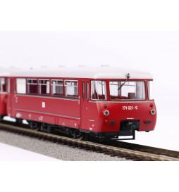 Piko 52888 - Spalinowy zespół trakcyjny BR 171 DCC, z dekoderem dźwięku, DR, epoka IV