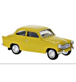Brekina 27459 -Skoda Octavia, żółta, rok 1960