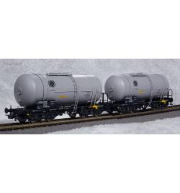 Piko 58230 - Zestaw 2 cystern 406Ra Zaes CTL Logistics, ep. VI