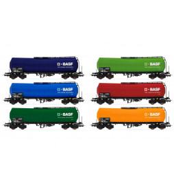 Rivarossi HR6460P - Wagon cysterna Zaes 33 51 788 0 848-1 PKP, GATX, FS, Ep. VI