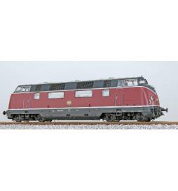 ESU 31337 - Lok. spalinowa 220 019, DB, szaro-ciemnoczerwona, Ep IV, dźwięk, gen. dymu, DCC