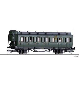 Tillig TT 013155 - 3rd class passenger coach of the DRG, Ep. II