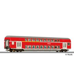 Wagon piętrowy Do 2000AB DB-Regio ep.VI - Tillig TT 13803