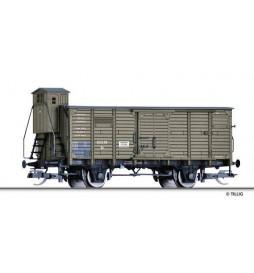Tillig TT 017931 - Box car Gn of the Bergedorf-Geesthachter Eisenbahn, Ep. I