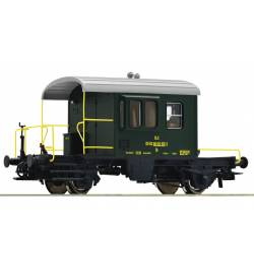 Roco 67611 - Wagon hamulcowy Sputnik, BLS, epoka IV-V