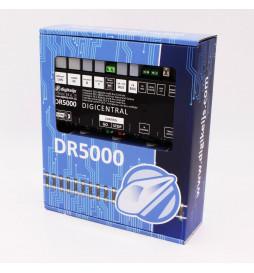 DR5000 - Wielosystemowa centralka DCC (WiFi, LAN, LocoNet, XPressNet, Booster-Bus, RS, InfraRed) z zasilaczem