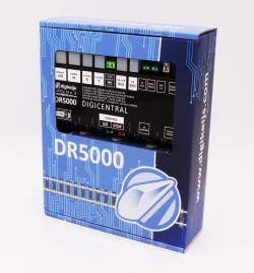Digikeijs DR5000-NPS Centralka DCC (WiFi, LAN, LocoNet, XPressNet, Booster-Bus, RS, InfraRed) bez zasilacza