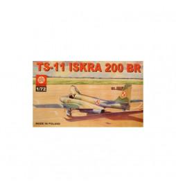 Plastyk PLK017 - PZL TS-11 Iskra 200 BR, Samolot do sklejania, skala 1:72