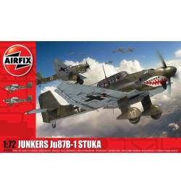 Airfix 03087A - Samolot Junkers Ju87 Stuka, skala 1:72