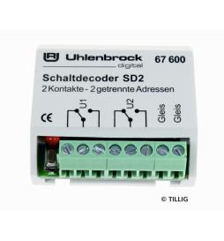Dekoder włączający SD 2 - Tillig H0 66836