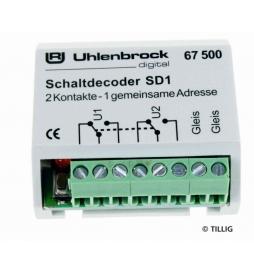 Dekoder włączający SD 1 - Tillig H0 66837