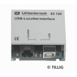 USB-LocoNet Interface (bez software) - Tillig H0 66844