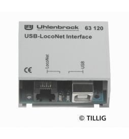 USB-LocoNet Interface (bez software) - Tillig H0 66844