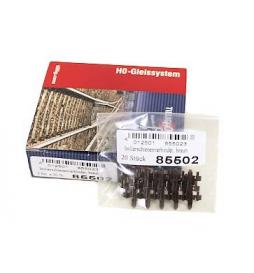 Łącznik izolujący brązowy (opakowanie 20szt) - Tillig H0 85502