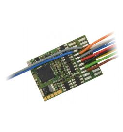 Dekoder jazdy i oświetlenia Zimo MX633R (3W) DCC 8-pin z przewodami