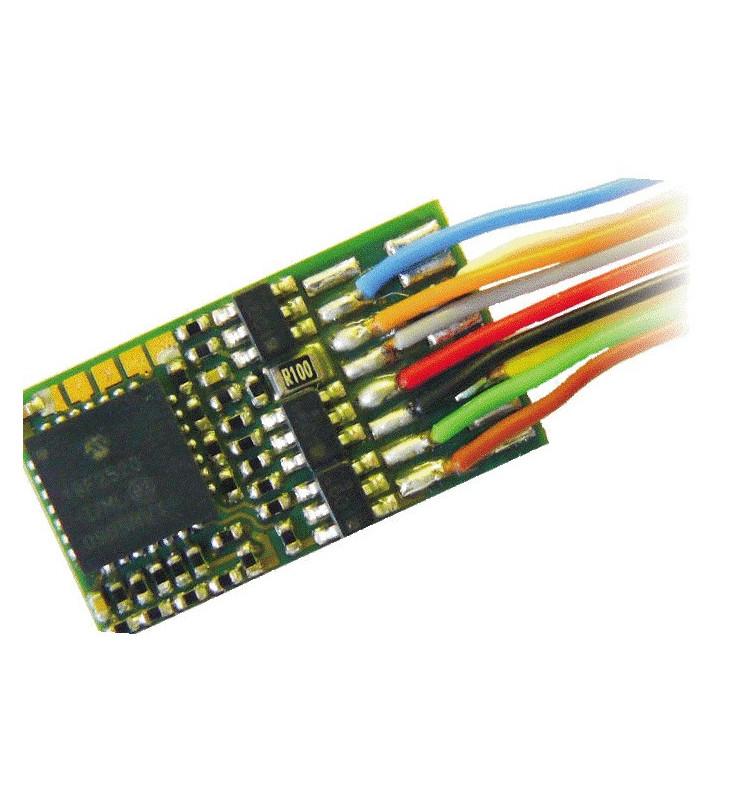 Dekoder jazdy i oświetlenia Zimo MX630 (3W) DCC 9-kabli