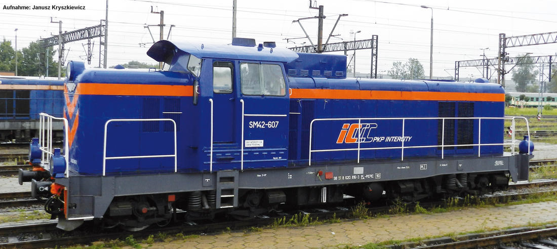 Piko 59269 Lokomotywa manewrowa SM42-607 PKP Intercity