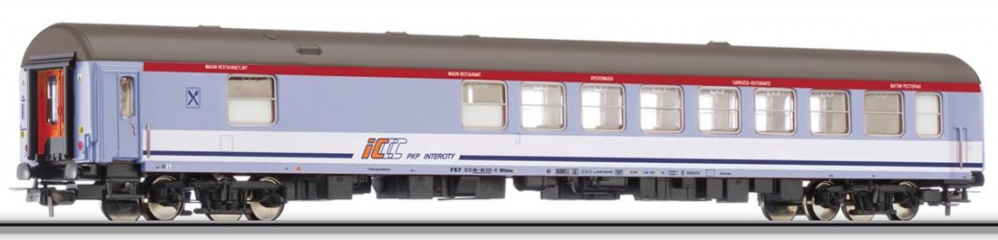 Tillig 74747 wagon restauracyjny PKP Intercity IC