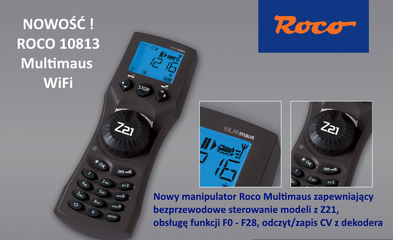 Roco 10813 - WLAN Multimaus